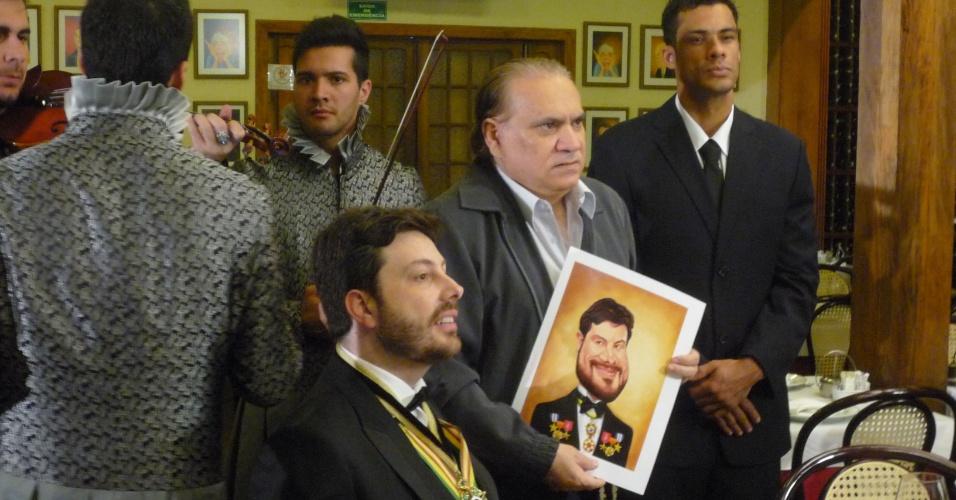 Na última quinta-feira (2), Danilo Gentili levou as gravações do quadro
