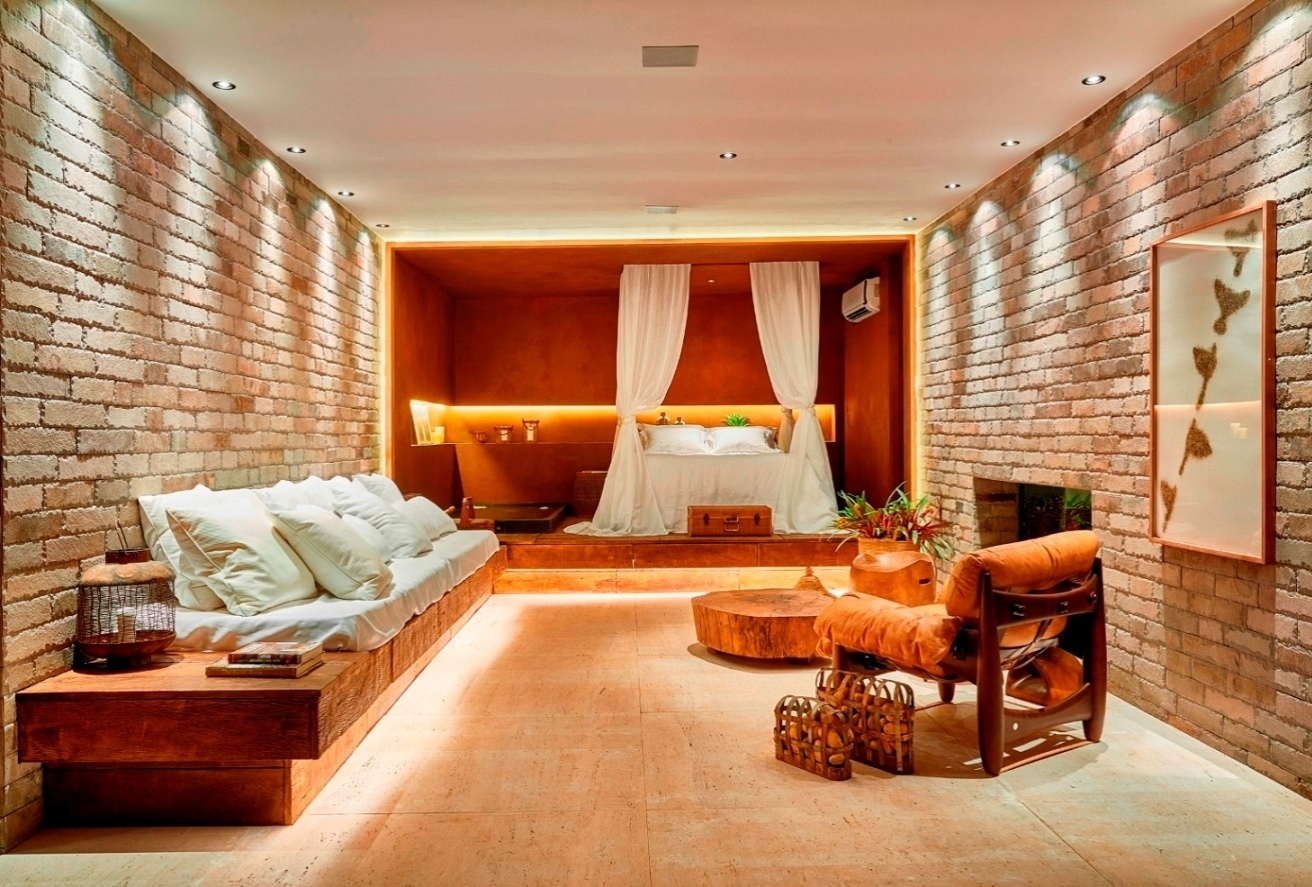 5cc09a12faa A fim de criar um efeito intimista e colaborar para o aconchego do Lounge  Resort