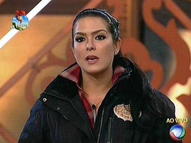 6.out.2014 - Débora Lyra indica Felipeh Campos para a terceira roça de