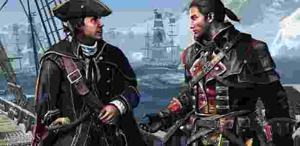 """Em """"Assassin""""s Creed Rogue"""" você controla um Templário - Divulgação"""