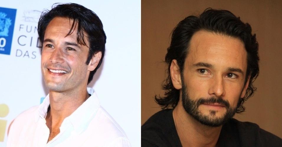 homens com barba - Rodrigo Santoro