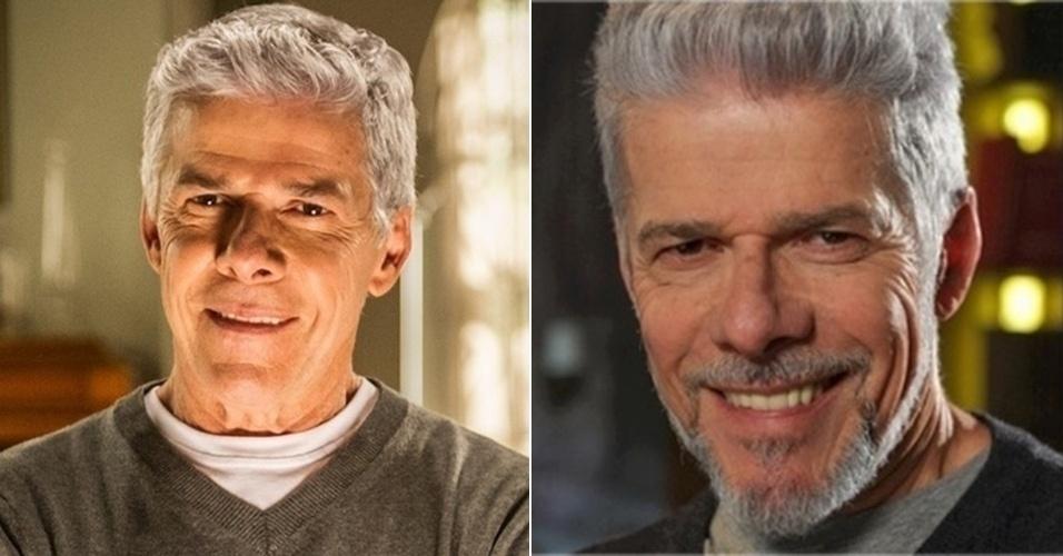 homens com barba - josé mayer