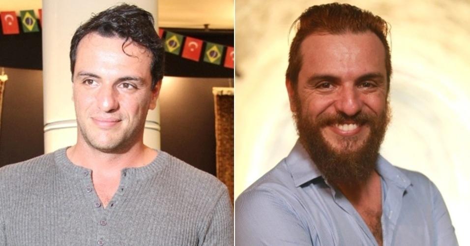 homens com barba - rodrigo lombardi