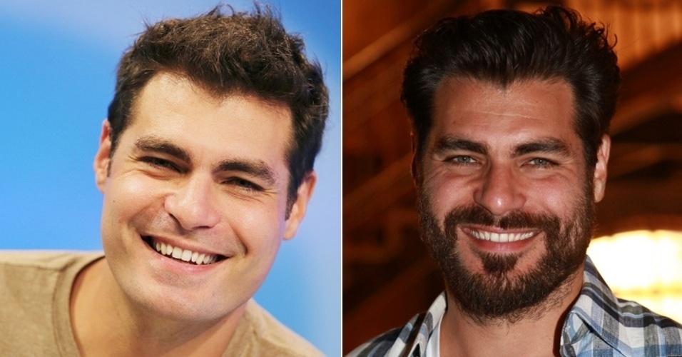 homens com barba - Thiago Lacerda