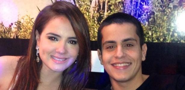 Mc Bruninha com o noivo Hyago Lopes