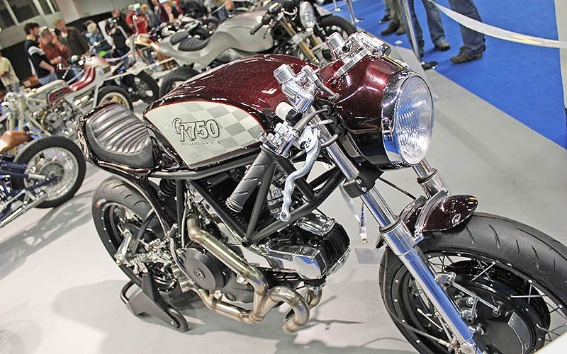 Mundial de Customização de Motos no Salão de Colônia 2014