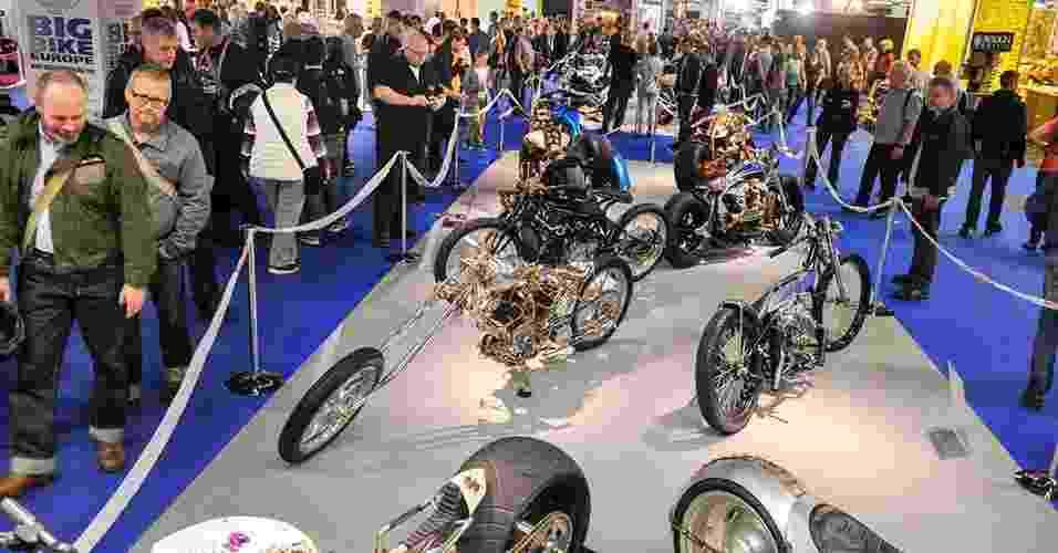 Mundial de Customização de Motos no Salão de Colônia 2014 - Divulgação