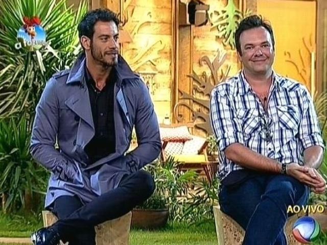 9.out.2014 - Diego Cristo e Felipeh Campos disputam a preferência do público na roça desta quinta-feira em