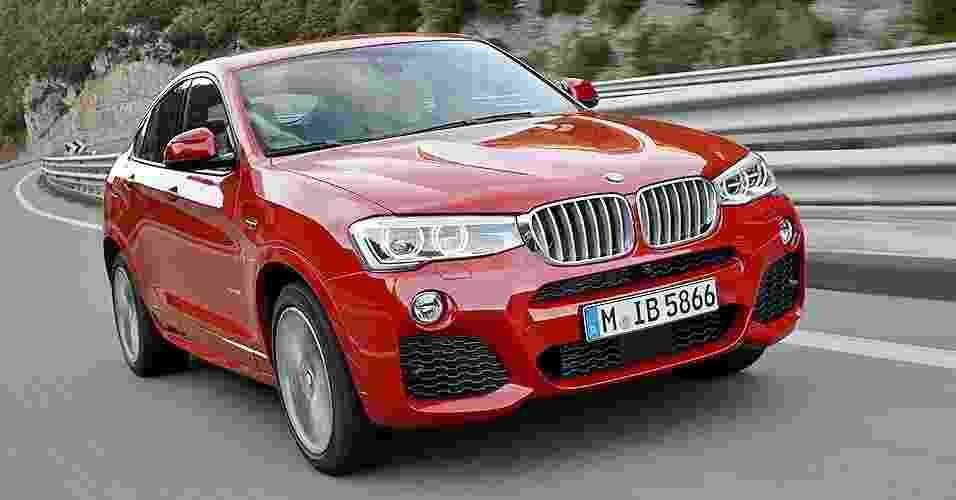 BMW X4 - Divulgação