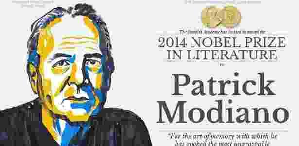 Patrick Modiano, Prêmio Nobel de Literatura em 2014 - Divulgação - Divulgação