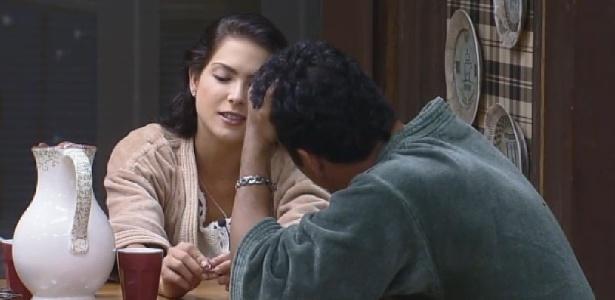 """Marlos Cruz declara seu interesse por Débora Lyra em """"A Fazenda 7"""""""