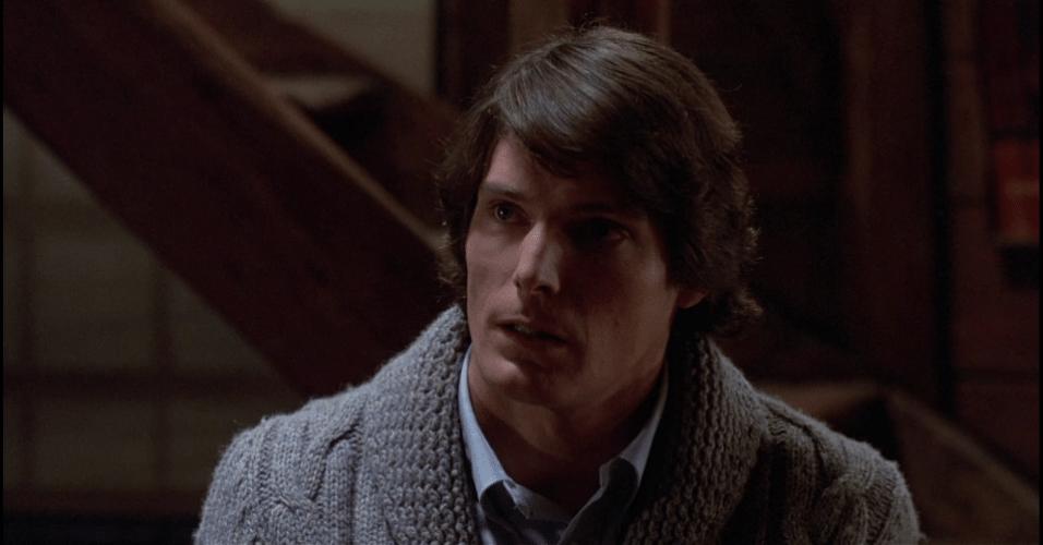 """Christopher Reeve em cena do filme """"Armadilha Mortal"""" (1982)"""