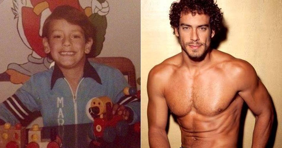 """Diego Cristo, segundo eliminado de """"A Fazenda 7"""", cresceu e virou um galã!"""