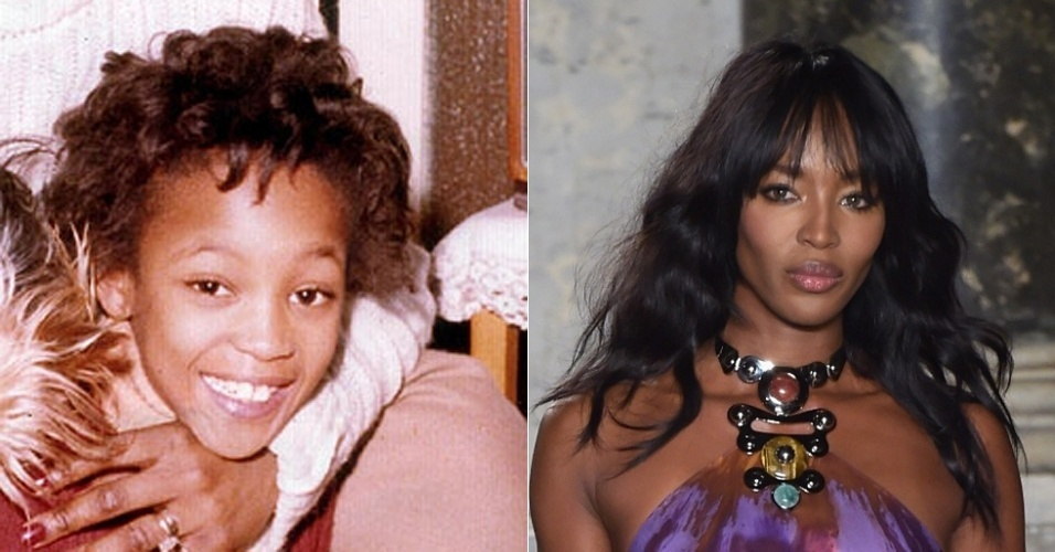 Modelos crianças - Naomi Campbell