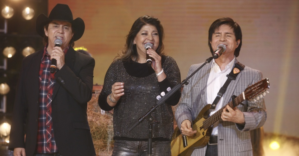 Roberta Miranda está entre as atrações do programa