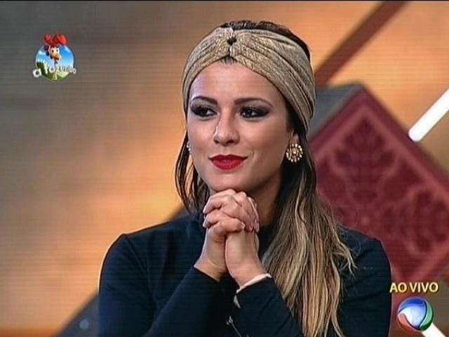 13.out.2014 - Com o grupo Ovelha imunizado, Babi Rossi indica Marlos para a quarta berlinda de