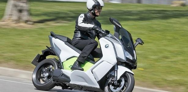 3d562d72561 C Evolution é o primeiro scooter elétrico da história da BMW Imagem   Infomoto