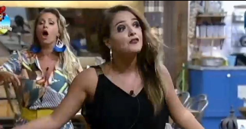 14.out. 2014- Bruninha discute com Roy em