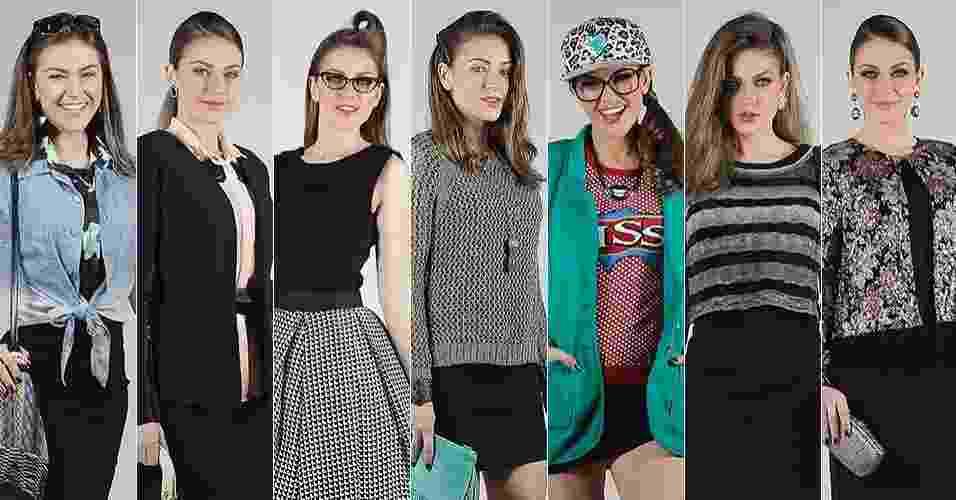 Editorial Um vestido preto, 7 looks - abre - Reinaldo Canato/UOL