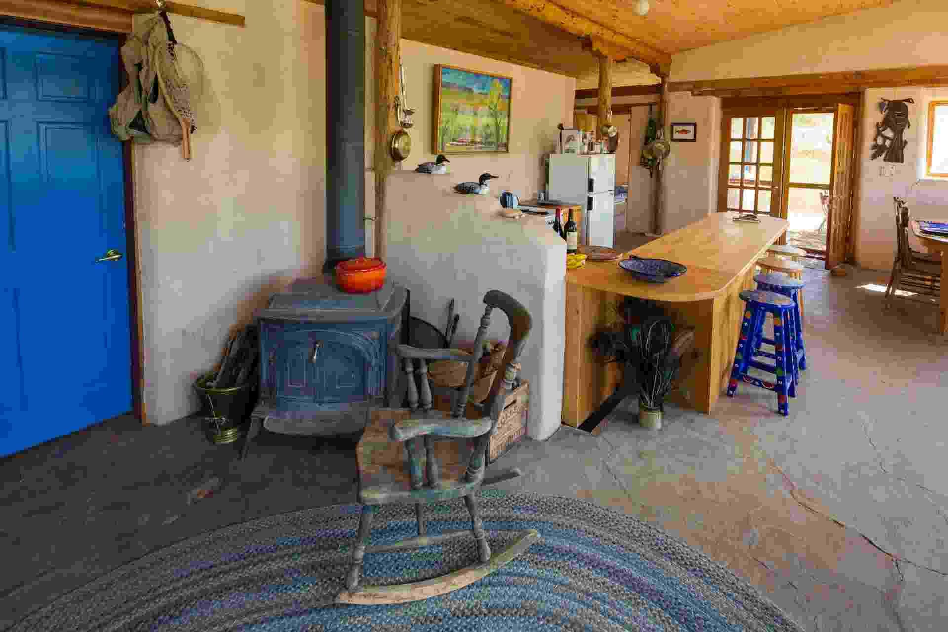 Casa de adobe no Colorado (EUA) - Imagem do NYT, usar apenas no respectivo material - John Burcham/ The New York Times