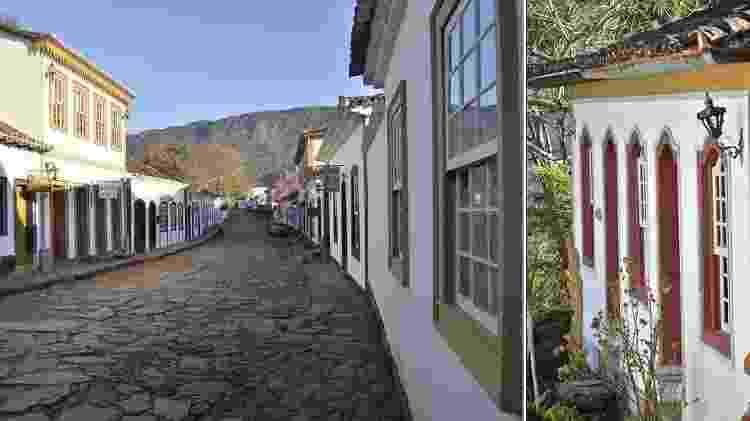 Casario da cidade mineira de Tiradentes - Guilherme Andrade/UOL - Guilherme Andrade/UOL