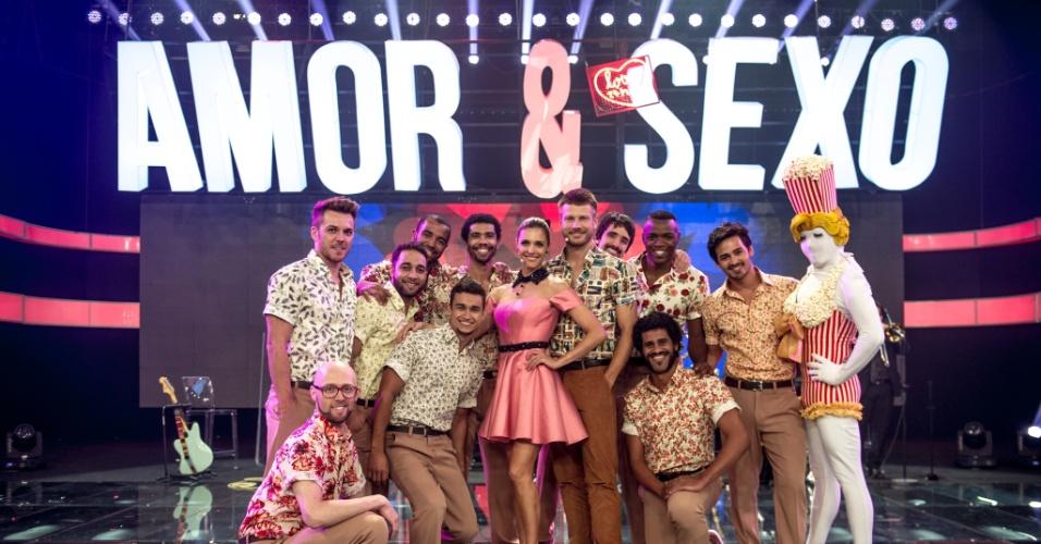 Fernanda Lima e Rodrigo Hilbert precisaram ensaiar várias vezes com os bailarinos de