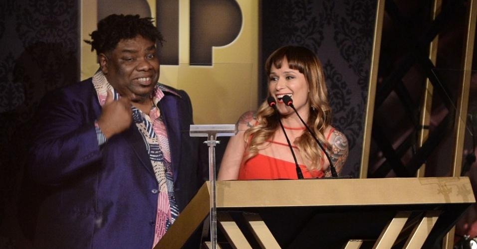 14.out.2014 - O Prêmio da Indústria Pornô é apresentado pelo ator Sérgio Loroza e Bianca Jahara, em São Paulo