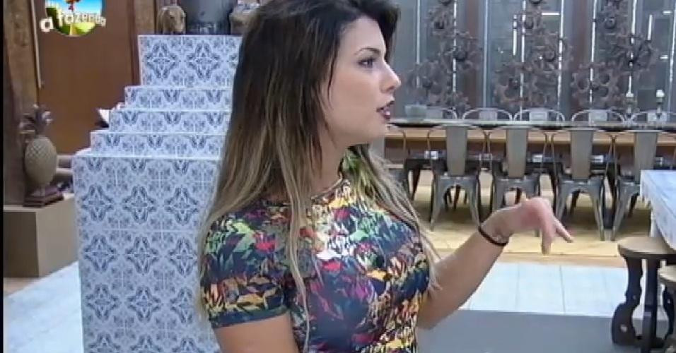 15.out.2014 - Babi Rossi desabafa sobre relacionamento com Léo Rodriguez em