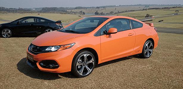 Honda Civic Si volta ao Brasil como cupê, com cores fortes e motor aspirado - Murilo Góes/UOL