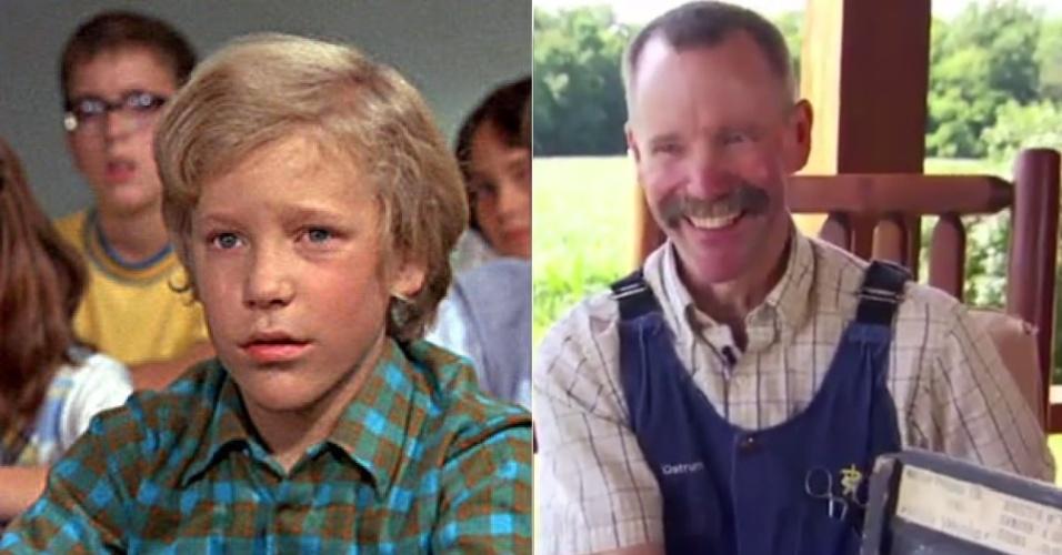 O antes e depois de Peter Ostrum; de astro de cinema a veterinário no interior dos Estados Unidos
