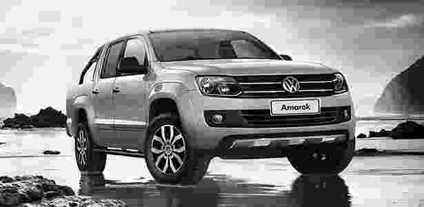 Volkswagen Amarok Dark Label - Divulgação - Divulgação