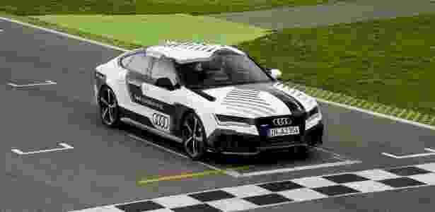 """""""Bobby"""", o RS7 autônomo, também fará exibição em Hockenheim - Divulgação"""