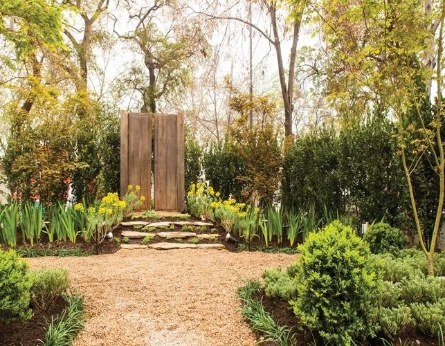 Desenvolvido por Carmen María Gálvez Mena, o jardim