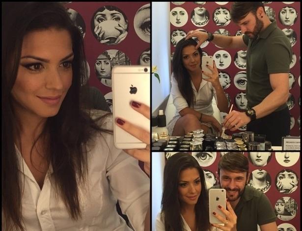 Dois após o casamento com Michel Teló, Thais Fersoza posta imagens do seu Dia de Noiva.
