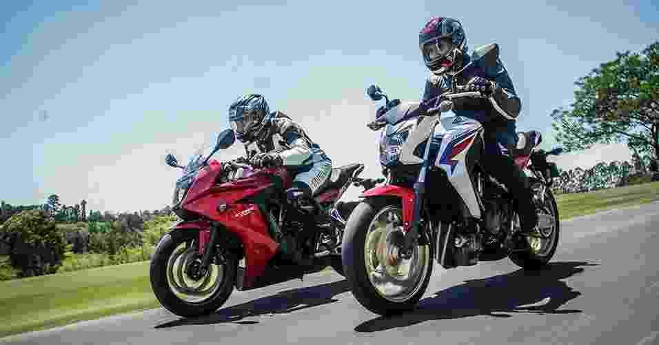 Honda CB 650F e CBR 650F chegam ao Brasil - Divulgação