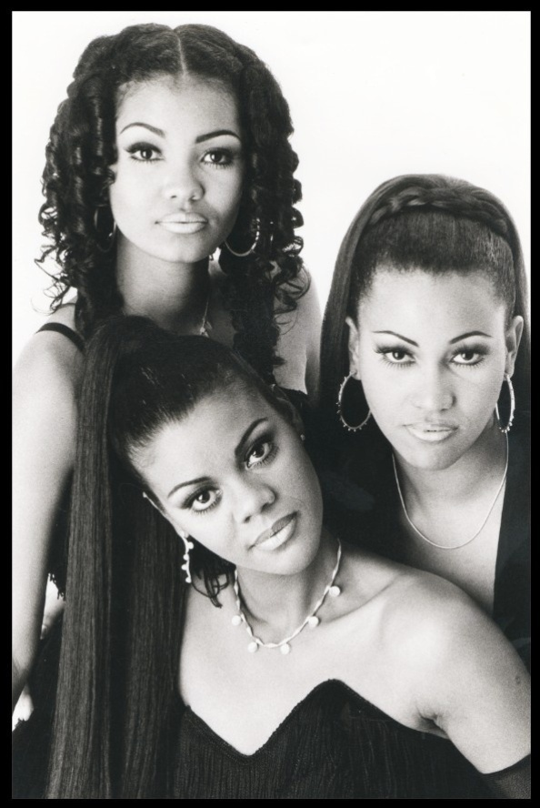 O grupo As Sublimes, formado por Isabel Fillardis, Karla Prietto e Lilian Valeska, nos anos 90