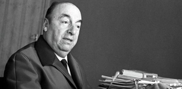 Pablo Neruda morreu após o golpe de estado no Chile - Divulgação