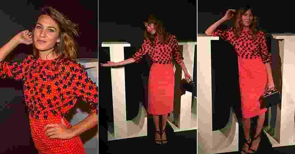 Elle Fashion Preview - Inverno 2015 - Alexa Chung - Marcelo Pereira/Bianca Iaconelli/UOL