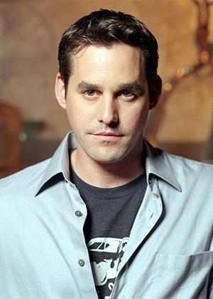 """O ator Nicholas Brendon na época de """"Buffy"""""""