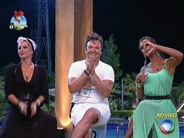 20.out.2014 - Bruna Tang, Felipeh Campos e Lorena Bueri formam a quinta roça de
