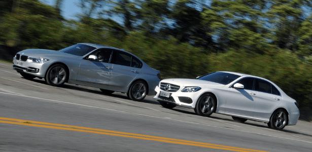 BMW é R$ 14.050 mais caro que o Mercedes equivalente, mas dá mais prazer ao volante - Murilo Góes/UOL