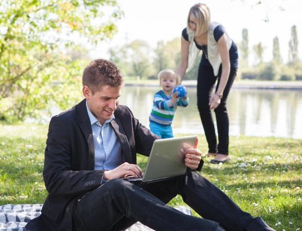 Quando trabalhamos demais deixamos a família em segundo plano - Getty Images