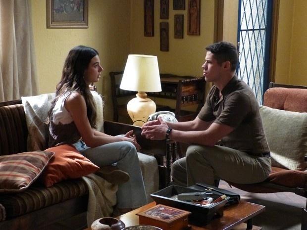 Sandra e Pedro armam plano para Vicente conquistar Madalena em
