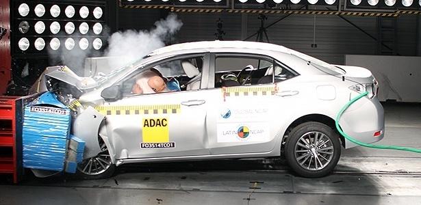 Sem controle de estabilidade, Toyota Corolla cairia de cinco para três estrelas - Divulgação
