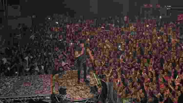"""Luan Santana durante turnê de """"Nosso Tempo É Hoje"""", em 2014, um álbum ao vivo -- e conceitual - Rodrigo dos Anjos/AgNews - Rodrigo dos Anjos/AgNews"""