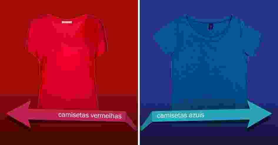 Domingo é dia de eleição, escolha a cor do seu partido para ir às urnas. Navegue pela seta da esquerda, se vai votar na Dilma, candidata do PT e pela da direita se vai votar no Aécio, do PSDB - Divulgação