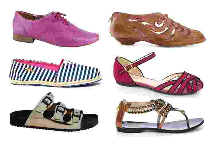 A sapatilha é um dos sapatos queridinhos das brasileiras, mas às vezes é preciso variar o visual. A seguir, veja opções de modelos tão confortáveis e versáteis quanto a sapatilha, que combinam com qualquer look sem judiar dos pés femininos - Divulgação