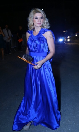 28.out.2014 - Antonia Fontenelle chega ao no HSBC Arena, no Rio, para o Prêmio Multishow 2014