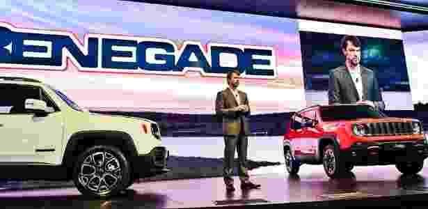 Apresentação do Jeep Renegade - Divulgação - Divulgação