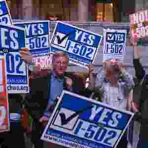 """Cena do documentário """"Evergreen: The Road to Legalization in Washington"""" - Reprodução"""